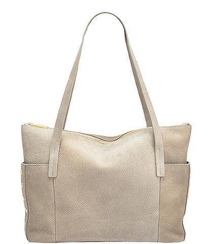 Hammitt Addie Large Nubuck Leather Zippered Tote Bag