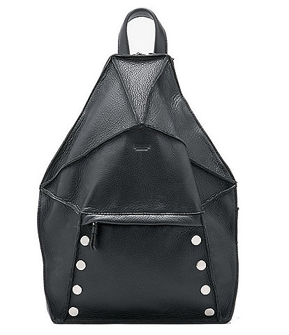 Hammitt Bob Zip Around Pebbled Leather Backpack