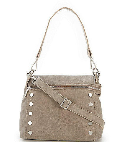 Hammitt Bryant Medium Convertible Suede Leather Crossbody Bag