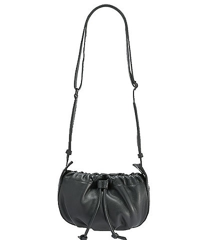 Hammitt Cooper Leather Drawstring Crossbody Bag