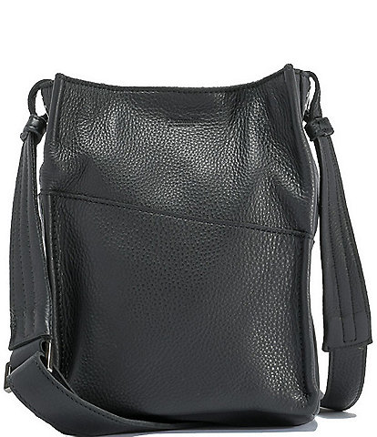 Hammitt Davis Pebble Leather Small Bucket Bag