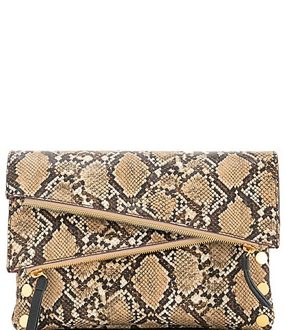 Hammitt Dillon 6-Way Flap Snake Crossbody Bag