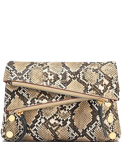 Hammitt Dillon 6-Way Flap Snake Small Crossbody Bag