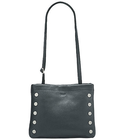 Hammitt Duke Triple Compartment Pebble Leather Crossbody Bag