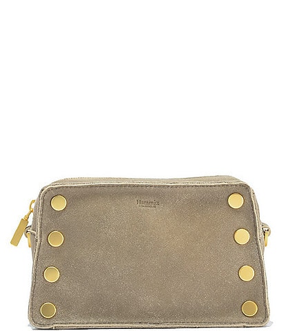 Hammitt Madison Snake East West Camera Suede Crossbody Bag