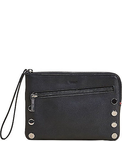 Hammitt Nash Small Convertible Studded Smooth Leather Top Zip Crossbody Bag