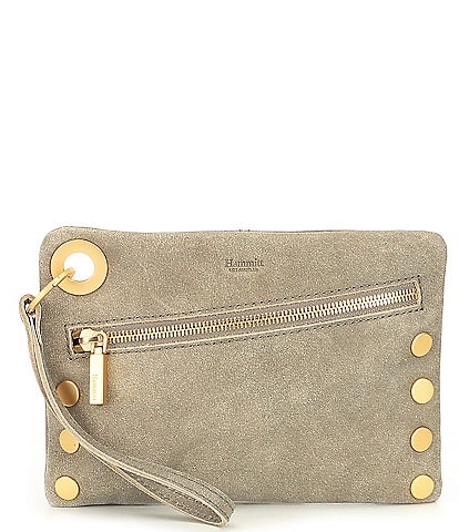 Hammitt Nash Studded Mini Convertible Cross-Body Bag With Gold Hardware
