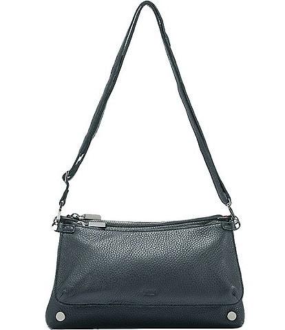 Hammitt Nathan Pebble Leather Double Pouch Crossbody Bag