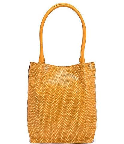 Hammitt Oliver Medium Snake Embossed Leather Tote Bag
