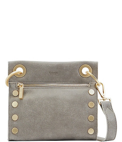 Hammitt Tony Grommet Studded Leather Crossbody Bag