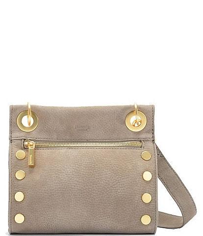 Hammitt Tony Grommet Studded Leather Crossbody Bag