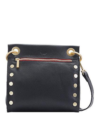 Hammitt Tony Medium Leather Studded Crossbody Bag