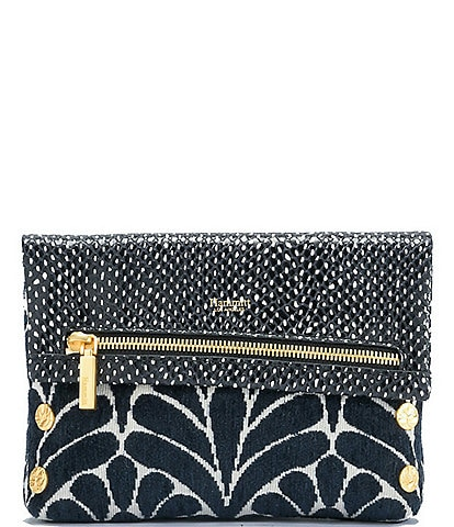 Hammitt VIP Small Leather Snake Embossed Crossbody Bag