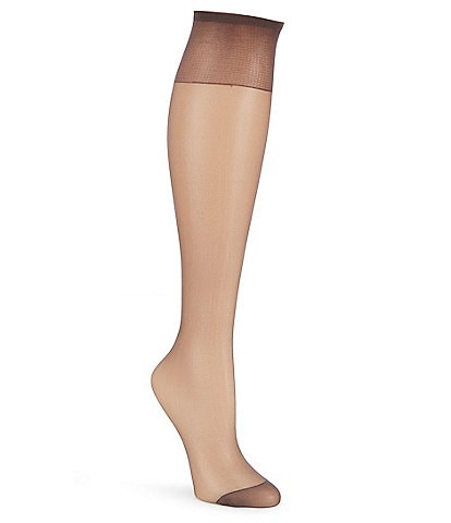Hanes Silk Reflection 6-Pack Knee Highs
