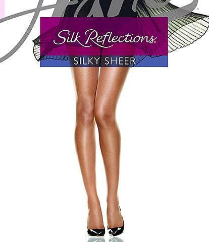 Hanes Silk Reflections Sheer Sandalfoot Hosiery