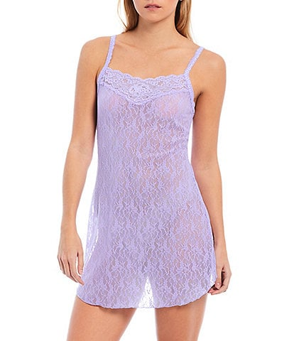 Hanky Panky American Beauty Rose Lace Chemise