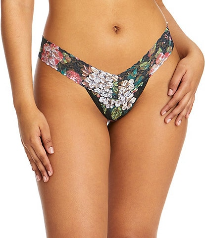 Hanky Panky Baroque Blooms Low Rise Thong