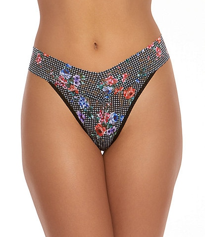 Hanky Panky Checkered Past Original Rise Thong