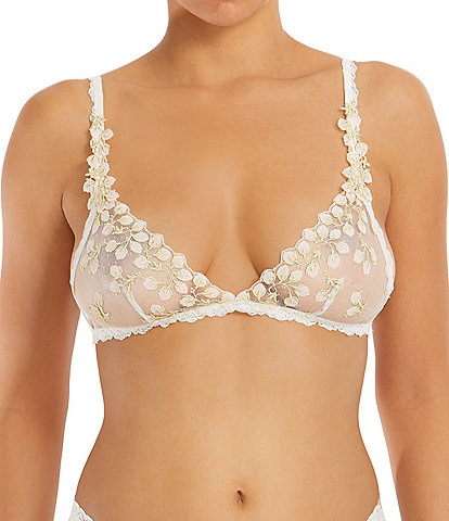 Hanky Panky Floret Embroidered Bralette