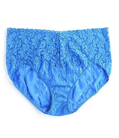 Hanky Panky Plus Retro Lace V-kini Panty