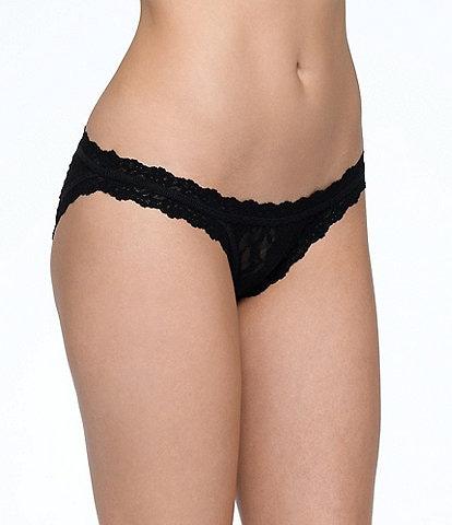 Hanky Panky Scalloped Lace Brazilian Bikini Panty