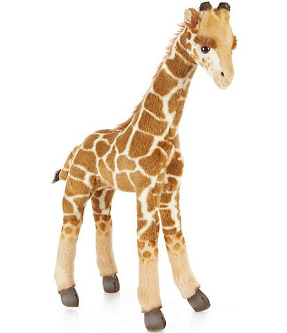 Hansa 19.75#double; Plush Baby Giraffe
