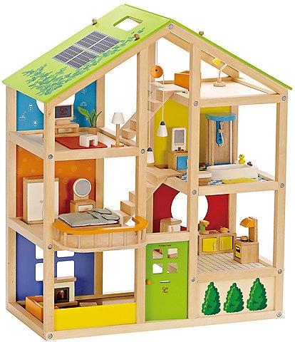 Hape All Season Furnished Dollhouse
