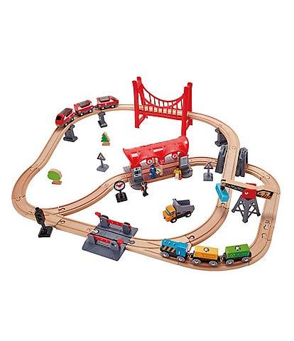 Hape Busy City Railroad Set