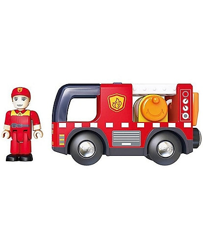 Hape Fire Truck With Siren Toy
