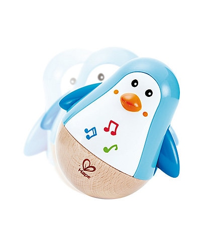 Hape Penguin Musical Wobbler Toy