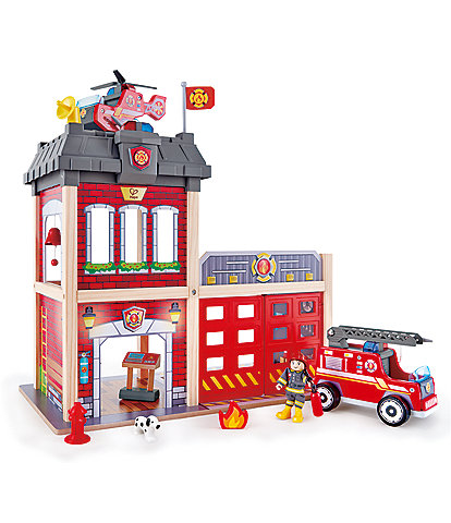 Hape Toy Fire Station