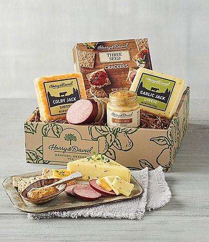 Harry and David Classic Meat & Cheese Gift Set