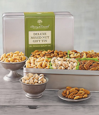 Harry and David Deluxe Mixed Nuts Tin