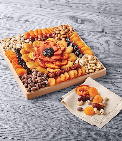 Harry and David Dried Fruit And Nut Tray