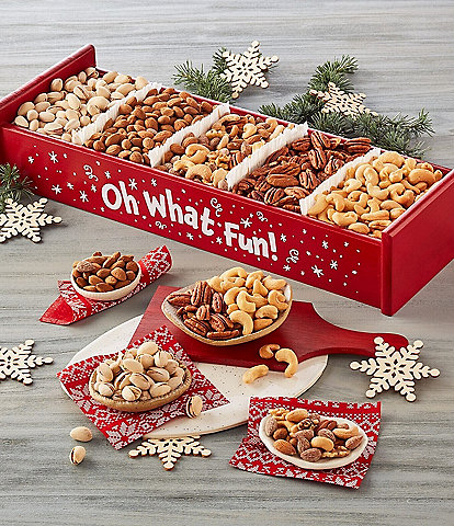 Harry and David Holiday Mixed Nuts Crate