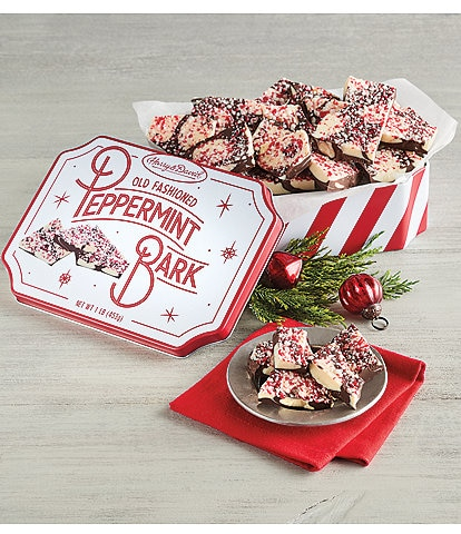 Harry and David Peppermint Bark Tin
