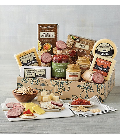 Harry and David Supreme Meat and Cheese Gift Box