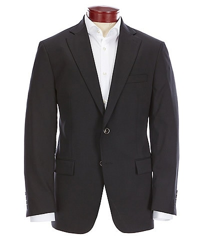 Hart Schaffner Marx Classic Fit Luxe Stretch Black Blazer