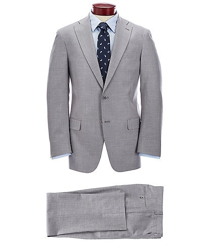 Hart Schaffner Marx Classic Fit Solid Grey Suit
