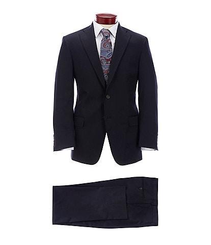Hart Schaffner Marx Classic Fit Solid Navy Suit