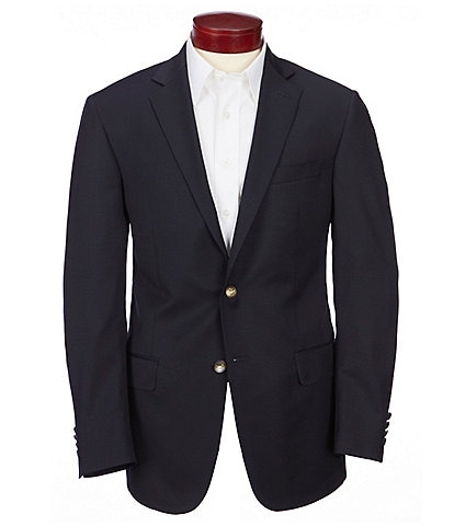 Hart Schaffner Marx Classic Fit Solid Wool Sportcoat