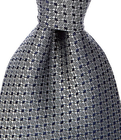 Hart Schaffner Marx Dimmit Solid Non-Solid Traditional 3 1/4#double; Silk Tie