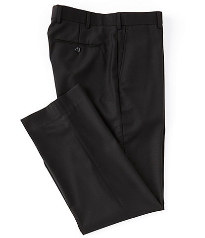 Hart Schaffner Marx Flat-Front Classic Trouser Dress Pants