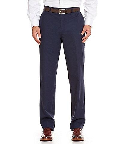 Hart Schaffner Marx New York Tailored Modern Fit Flat-Front Dress Pants