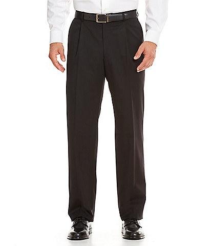 Hart Schaffner Marx Tailored Single-Pleat Regular Chicago Fit Dress Pants