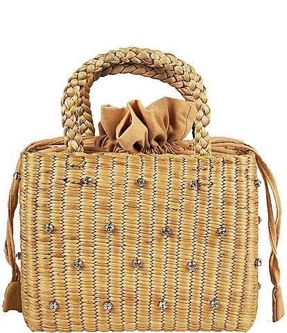 Hat Attack Gemma Straw Tote Bag