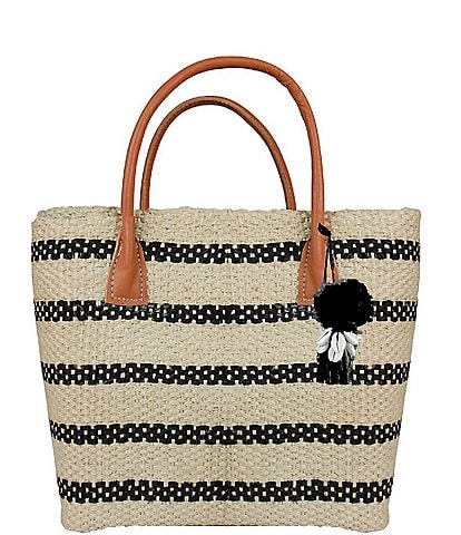 Hat Attack Small Tuscan Stripe Tote Bag