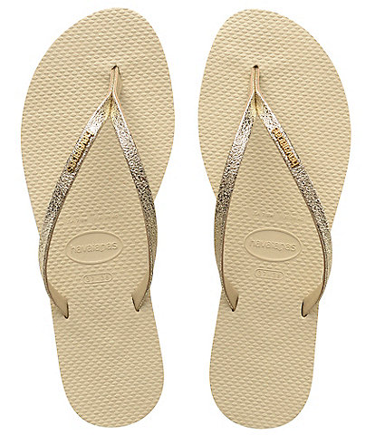 Havaianas Women's You Shine Metallic Flip Flops