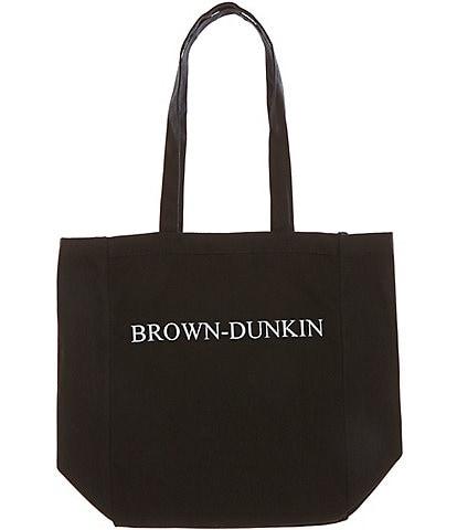 Heritage Brown-Dunkin Logo Tote Bag