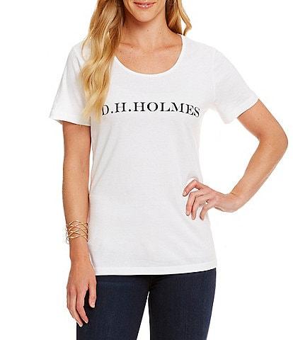 Heritage D. H. Holmes Logo Tee